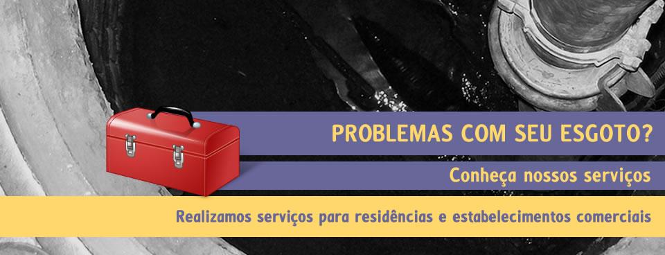 Esgotamento Sanitário RJ - Desentupidora RJ