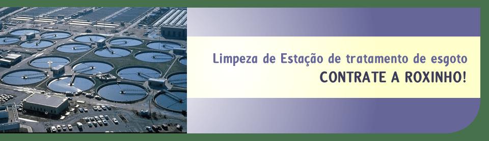 Limpeza de ETE -Estação de tratamento de águas Rio de Janeiro
