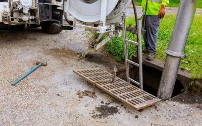 Inicie o ano com limpeza preventiva nas redes de esgoto